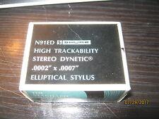 Shure N91ED stylus for M91ED - (also M91E and M93E)- NOS SHURE USA