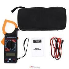 Digital Voltmeter Ammeter Ohmmeter Multimeter Volt AC DC LCD Tester Clamp Meter