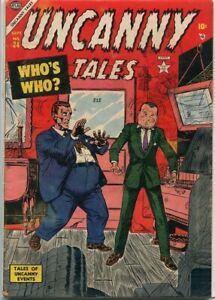 Uncanny Tales #24 Atlas Comics 1954 VG 4.0