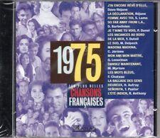 CD Les plus belles chansons françaises 1975 DAVE Gérard LENORMAN Hugues AUFRAY