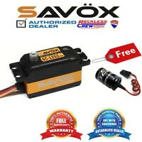 Savox SC-1252MG High Speed Low Profile Servo + Free Glitch Buster