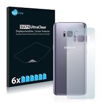 6x Film Protection écran pour Samsung Galaxy S8 (Arrière) Protecteur