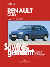 Renault Clio 1/91 bis 8/98 ETZOLD So wirds gemacht Bd 76 Reparatur NEU
