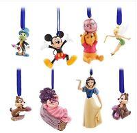 Disney CLASSICS SKETCHBOOK ORNAMENT SET TINKERBELL JIMINY Pooh Mickey 30th Anniv