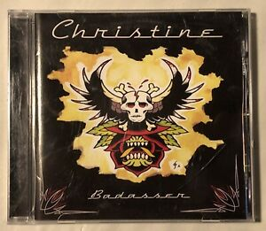 Christine   – Badasser CD - Stoner Rock Heavy Metal - Supernova Records
