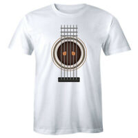 Guitar Prisoner Men's T-Shirt Funny Guitarist Musician Band Acoustic Music Shirt