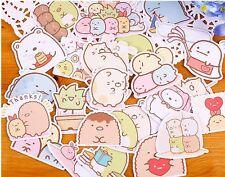 Sumikko Gurashi creatures in the corner cute kawaii kitsch stickers flakes
