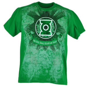DC Comics Green Lantern No Evil Shall Escape My Sight Tshirt Shine Tee