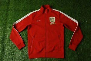 ENGLAND TEAM 2013-2014 FOOTBALL TRACK TOP JACKET TRAINING NIKE ORIGINAL SIZE S
