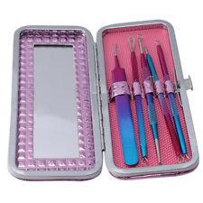 5Pcs/Set Useful Acne Needle Pore Spot Blackhead Blemish Pimple Cleaning Tool CB