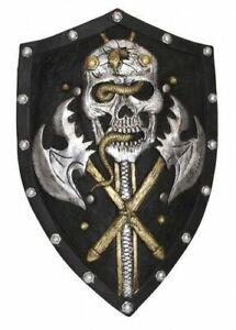 LARP Schild Piraten Ritter PU-Schaum LARP-Schild Totenkopf Ork