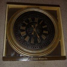 "Rare Edinburgh 23"" Diameter Vintage Style Wall Clock Horloge Murale"