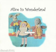 """Alice In Wonderland Doll Knitting Pattern March Hare Alice & The Walrus 12 & 15"""""""