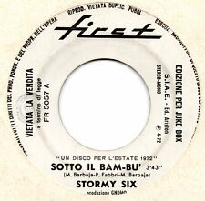 ORNELLA VANONI - STORMY SIX disco JUKEBOX 45 giri STAMPA ITALIANA Made in Italy