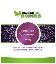 Strong Acai Berry Diet Capsules Pills Weight Loss Diet Supplements Tablets UK