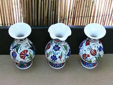 Turkish hand painted ceramic vase