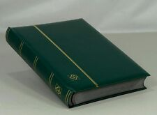 Lighthouse Leatherette Stockbook (64 Black Pgs.) Green - LSP4/32 - Free Shipping
