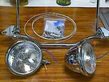 SPOT BAR w/ SWIVEL HALOGEN LIGHTS FL SOFTAIL (HERITAGE/FATBOY) 1985-1999