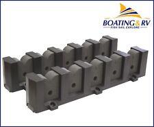 5 Fishing Rod Storage Rack - Horizontal Mount. ABS Plastic. Marine Boating