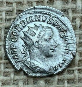 Gordian111 AR Antoninianus AD 241 to AD 243 L4