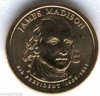 U.S.A. 1 Dolar James Madison 2007 P @ PRESIDENTE Nº 4 @