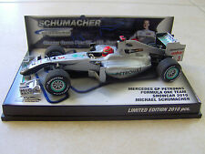 F1 Mercedes GP W01 Michael SCHUMACHER 2010 Hockenheim GP (1/43)