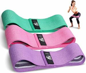 CFX Resistance Bands 3 Sets, Premium Exercise Loops with Non-Slip Design for...