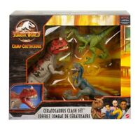 Jurassic World Camp Cretaceous Isla Nublar Ceratosaurus Clash Set 2020 USA