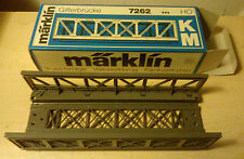 Märklin H0 7262 Pont treillis plastique NEUF Emballage d'origine