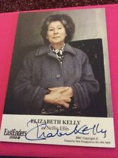 Nellie Ellis- Elizabeth Kelly Eastenders  Signed Cast Card -very rare❤️