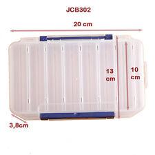 Plastikbox Angelbox Köderbox zubehörbox Angel Box TACKLEBOX für Fische (JCB302)