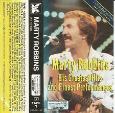 MARTY ROBBINS-HIS GREATEST HITS & FINEST PERFORMANCES-READER'S DIGEST-CASSETTES