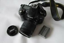 Nikon D D80 10.2MP Digital-SLR DSLR Camera with NIKKOR AF 28-80mm Lens - BLACK