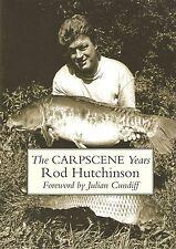 HUTCHINSON ROD LITTLE EGRET PRESS FISHING BOOK CARPSCENE YEARS hardback NEW