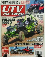 UTV Action Aug 2016 UTV Tire Buyer's Guide Brute Force Grizzly FREE SHIPPING sb