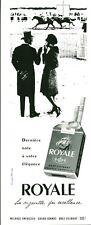 Publicité Ancienne  Cigarette Royale  1959
