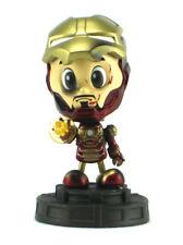 Hot Toys Cosbaby Iron Man Battle Damaged Version Movie Figure Tony Stark Marvel