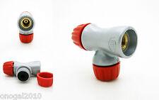 Adaptador de Cartucho Inflador Bomba CO2 Valvula Presta Schrader Bicicleta 3189p