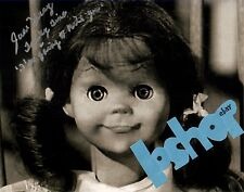 Autograph JUNE FORAY signed photo TWILIGHT ZONE TALKY TINA doll with famous line