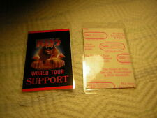 KISS BACKSTAGE PASS 1990 HOT IN THE SHADE SUPPORT ERIC CARR BRUCE KULICK