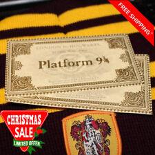 Harry Potter train ticket Hogwarts London Express Replica 9 3/4   10.8*6.2 cm