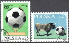 Poland 1982 - World Cup - Mi 2812-13 - used