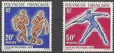 Timbres Sports Football Athlétisme Polynésie 22/3 ** lot 11950