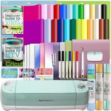 Cricut Explore Air 2 Deluxe Vinyl And Heat Transfer Vinyl Bundle