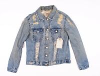 New LF Furst Of A Kind Remade Vintage Denim Jean Jacket Size S Small