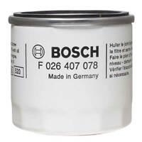 Oil Filter Bosch Fits Ford Fiesta V VI Focus I II III Mondeo IV V B C Max Volvo