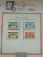 New ListingFranklin D. Roosevelt Stamps - Albania - 1952 - set  of four