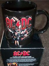 AC/DC AUSSIE AUSTRALIAN NZ NEW TOUR BLACK ICE COFFEE MUG ACDC New