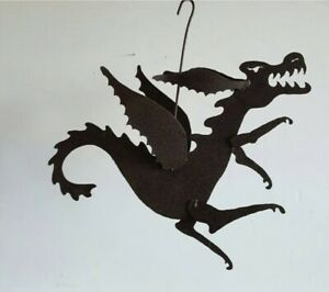 Fred Kessler Steel Dragon North Carolina Artist Signed Folk Yard Art