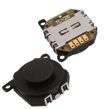 2x Replacement 3D Analog Joystick Control Stick Button for Sony PSP 1000 Black
